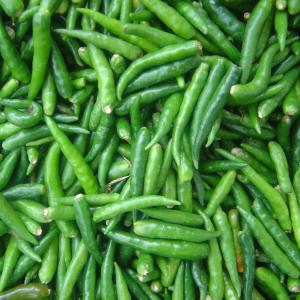 Peppers, Green Chili Peppers